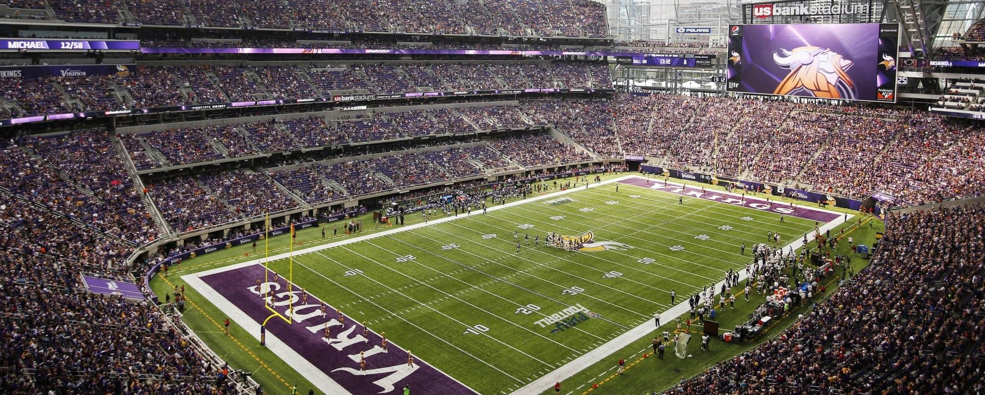 Vikings game tickets header